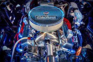 classic, car, automobile, Edelbrock, engine, motor