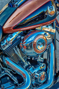 Harley Davidson, motorcycle, bike, chrome, 105th